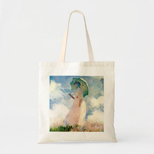 Monet Woman With A Parasol Tote bag