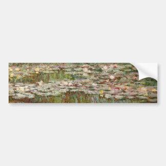 "Monet's ""Bridge Over a Pond of Water Lilies"" 1899 Bumper Sticker"