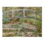 "Monet's ""Bridge Over a Pond of Water Lilies"" 1899 Postcards"