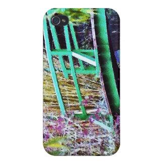 Monet's Bridge with Flowers iPhone 4 Cover