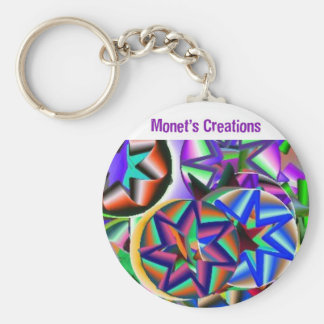 Monet's ColorFul Keychain