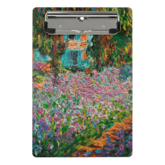 Monets Garden At Giverny Mini Clipboard