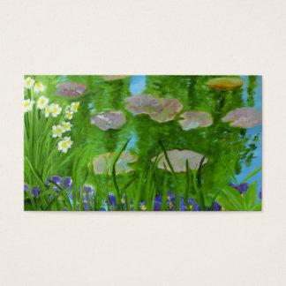 Monet's Garden Business Card