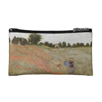 Monet's Poppy Field Makeup Bags