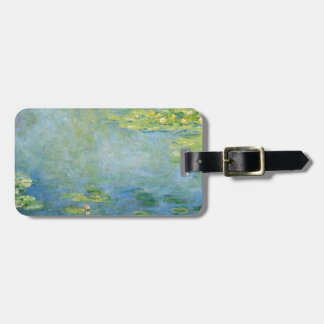 Monet's Waterlilies Luggage Tag