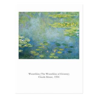Monet's Waterlilies Postcard