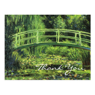 Monet's White Water Lilies Postcard