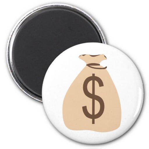Money Bag Fridge Magnet