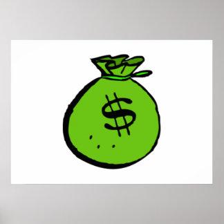 Money Bag Print