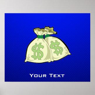 Money Bags; Blue Print