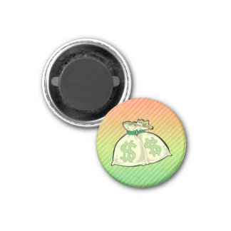 Money Bags design Refrigerator Magnets
