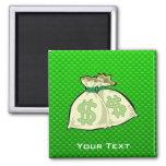 Money Bags; Green