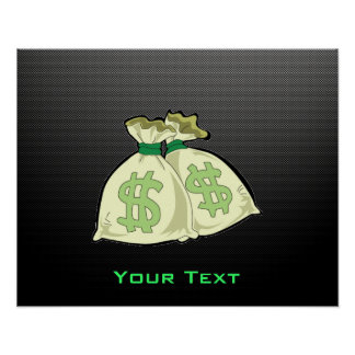 Money Bags; Sleek Poster