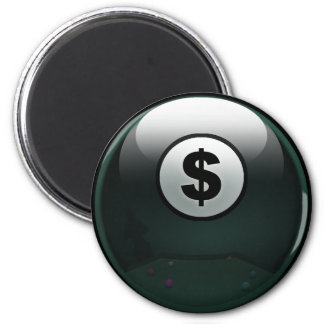 Money Ball 6 Cm Round Magnet