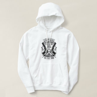 Money can't buy you Happiness but Guns&Ammo Hoodie