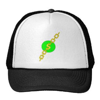 Money Chain Mesh Hat