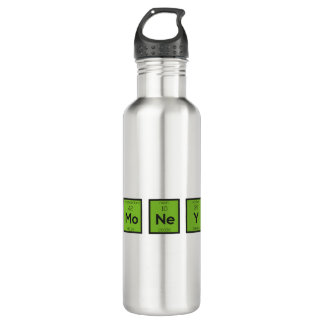 Money Chemical Element Funny Z3z08 710 Ml Water Bottle