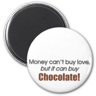 Money & Chocolate Refrigerator Magnets