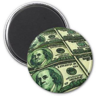Money Everywhere Fridge Magnets