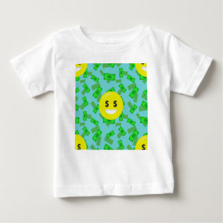 money eyed emoji baby T-Shirt