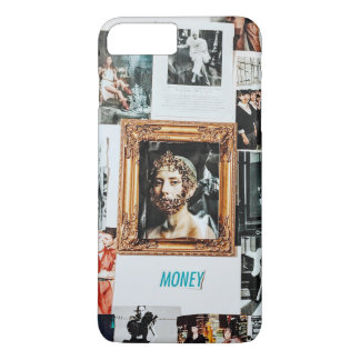 MOney Fashion Collage iPhone 8 Plus/7 Plus Case