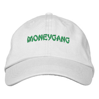 money gang embroidered hat