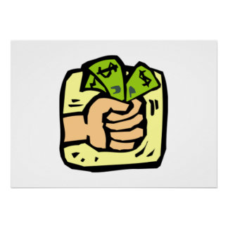 Money Grab Print