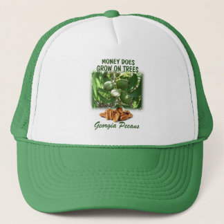 Money grows on trees cap. trucker hat