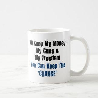 Money, Guns and Freedom Coffee Mug