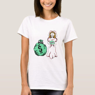 Money Hungry Bride T-Shirt