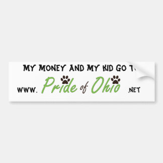 Money & Kids Bumper Sticker