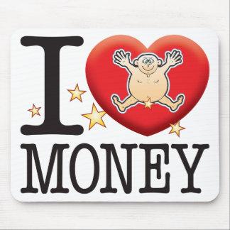Money Love Man Mouse Pad