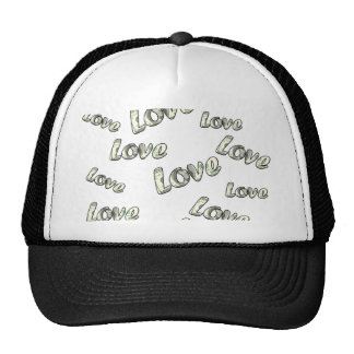 Money love pattern cap