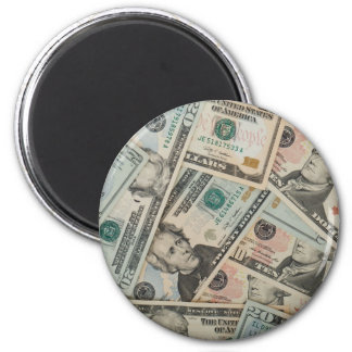 MONEY REFRIGERATOR MAGNETS