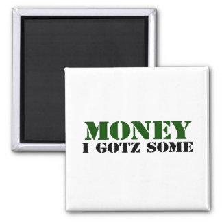 Money Fridge Magnet