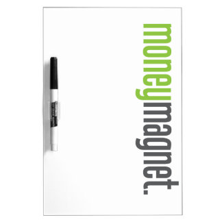 Money Magnet Dry Erase Whiteboard