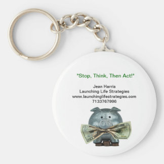 Money Manager Reminder Key Chain