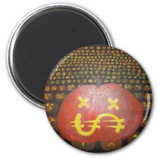 Money Mare 1 6 Cm Round Magnet