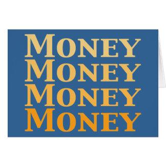 Money Money Money Money Gifts Card