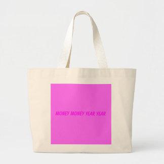 money money year year jumbo tote bag