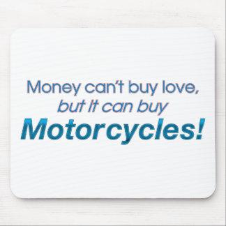 Money & Motorcycles Mousepad