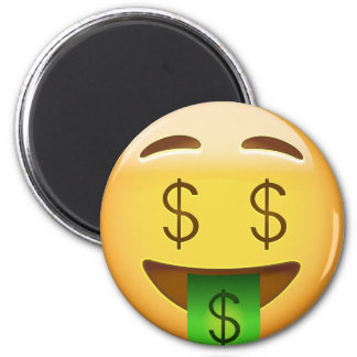 Money-Mouth Face Emoji Magnet