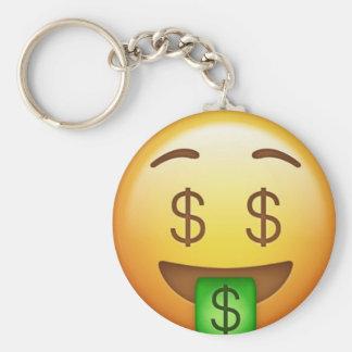 Money Mouth Hilarious Emoji Key Ring