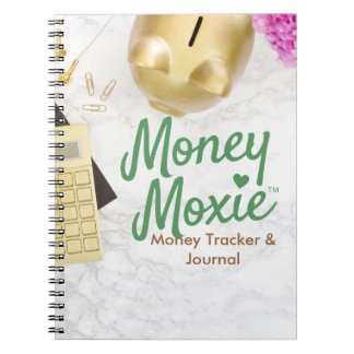 Money Moxie Money Tracker Journal Notebook