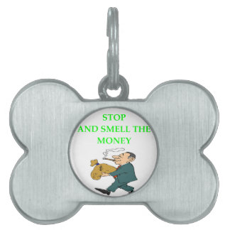 MONEY PET TAG