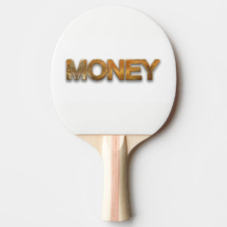 money ping pong paddle