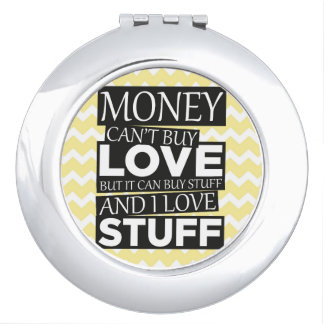 Money Quote Compact Mirrors