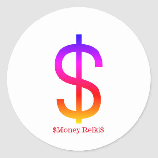 $Money Reiki$ Sticker