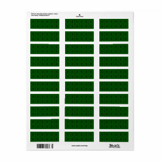 Money Sign on Green Extra small sticker Return Address Label