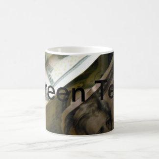 Money-Styled Green Tea Mug